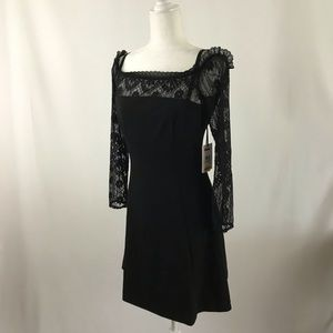 Kensie Dresses - Off shoulder lace mini dress (#58)